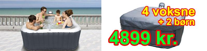 Nykomna Billig pool / udendørs spabad til kun 4799 kr. VS-48